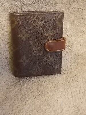 Louis Vuitton Card/picture Case/holder Pre~Owned Auth