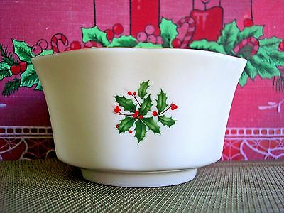 Beautiful LENOX SPECIAL Christmas Bowl - Made in USA - Perfect Candy & Nuts