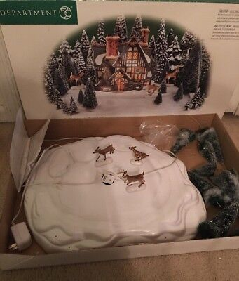 """Department 56  """"Through the Woods Animated Mountain Trail""""  #56.52791"""