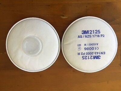 3M Particulate Filter 2125, P2, Pack 2