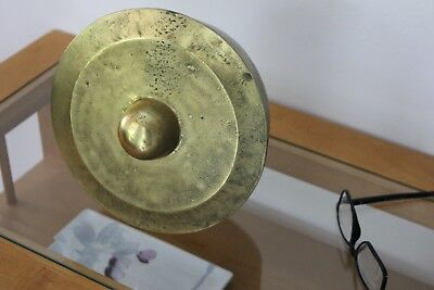 """Chinese Antique Brass Gong 9 X 4"""""""