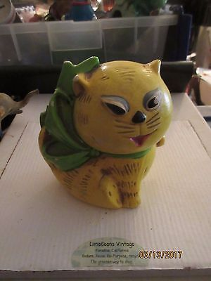 Ceramic Tiger from the Mid Century Similar Cat from Cartoons in 1960s  Very Rare