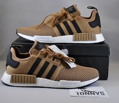 ADIDAS NMD R1 JD Sports Golden Beige Size 11.5 NEW BB6787 DS