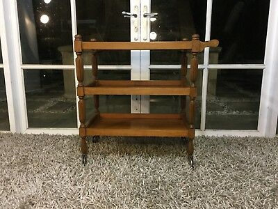 Lovely Retro Vintage 3 Tier Drinks Trolley - Can Deliver