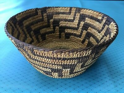 Antique Native American Papago/Pima Indian Basket Apache early 1900's