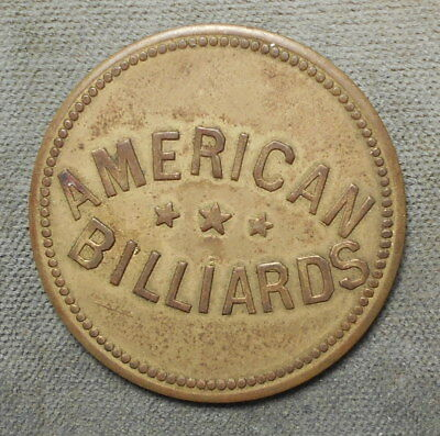 American Billiards GF 25c IT