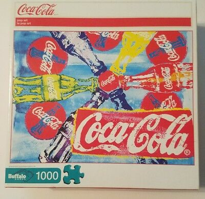 Coca-Cola Pop Art Buffalo Games, 1000 Pc Jigsaw Puzzle