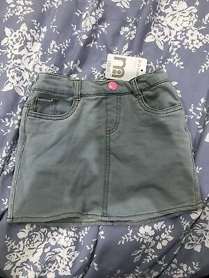 Soft Denim Skirt From Mothercare 18-24 Months / 1.5-2 Years
