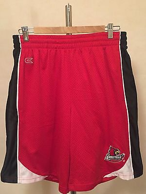 NCAA Louisville Cardinals LGE Infinity Basketball Shorts by Colosseum