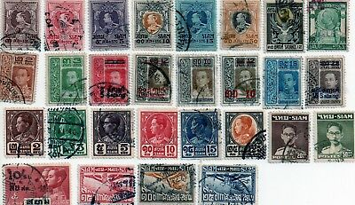 early thailand stamps