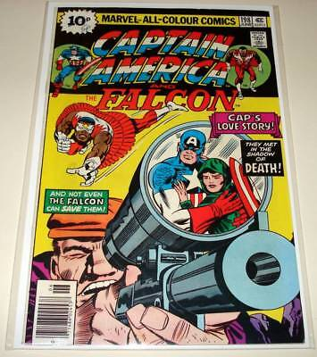 CAPTAIN AMERICA # 198 Marvel Comic (June 1976)  VG    Jack Kirby Story/Art