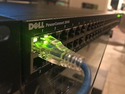 Dell PowerConnect 3548 48-Port Managed Fast Ethernet PoE Rack Mountable Switch
