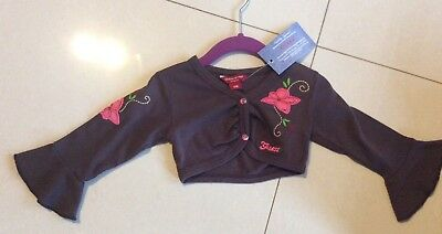 Guess, Brand New With Tags!  Designer Band Embroidered Jacket. Sz 6M/0
