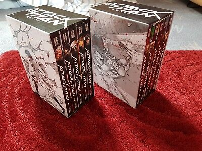 Attack on Titan Manga 1-22, AoT Before the Fall 1-10, No Regrets, Lost Girls top