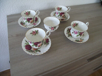 Royal Albert King`s Ransom 9 Teile Kaffeeservice Bone China