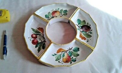 Hand painted vintage crockery (collection of)