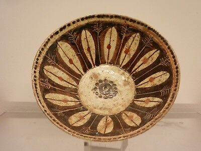Ancient Samarran Pottery painted Bowl With Colour
