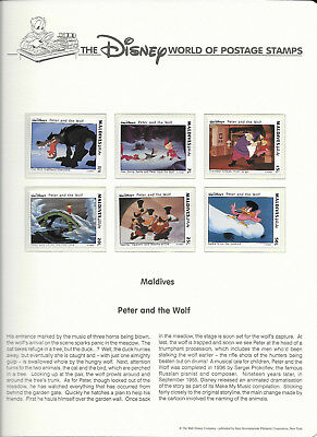 DISNEY: Peter and the Wolf (Set of 2)