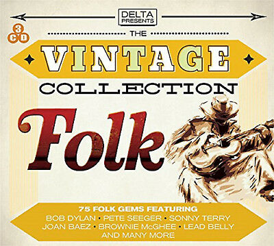 The Vintage Folk Collection - 3 CD BOXSET - BRAND NEW SEALED best of Greatest