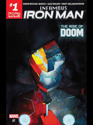 Infamous Iron Man by Brian Michael Bendis Comic Lot of 12 issues