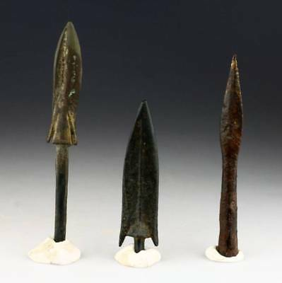 *sc* Interesting Lot Of Late Ancient Weapons, 1St. Mill. Bc - 1St. Ad