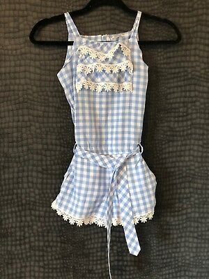 Immaculate - Mayoral Blue & White Playsuit Spanish Age 8 Years