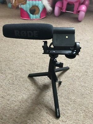 Rode VideoMic DVcam Directional Microphone (Røde) -with Tripod Hama