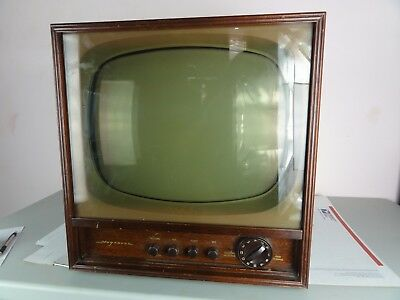 Antique/VTG Magnavox Television Model MV21J-3 Wooden 1950s TV