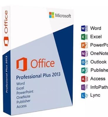 Microsoft Office Professional Plus 2013 32+64-Bit ISO Download For Windows