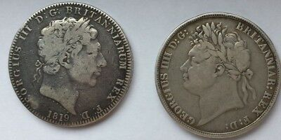 Two Crowns - George III and George IV