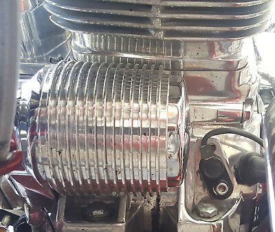Harley Touring Oil Cooler Billet Any Twincam Breakout Fatboy Special BIN