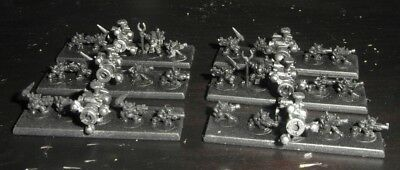 Epic 40k Ork Shokk Attack Guns x10 (6 stands with grots)