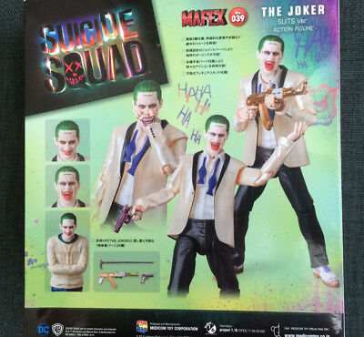 Medicom Mafex The Joker Suit - gebraucht in OVP ( Suicide Squad, DC, Batman )