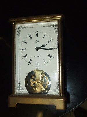Schatz And Sohne Brass Carriage Clock. German. 8 Day Clockwork Movement