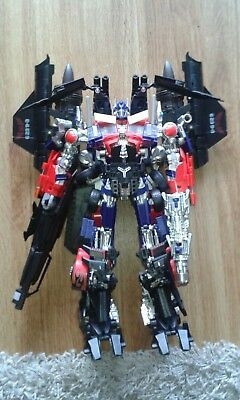 Transformers Takara Tomy Striker Optimus Prime and FANS Want IT FWI 03 Jet Power