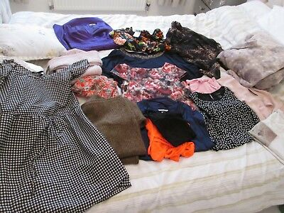 Job Lot Clothes Size 6-8 some new/used womens clothes H&M Next Primark new look
