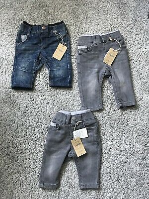 Mothercare And Ted Baker Job Lot Baby Boy Jeans 3-6 And 6-9 Months BNWT