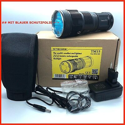 Nitecore Tm 15 Tiny Monster Taschenlampe Flashlight Cree Xm-L2 18650 Tragegriff