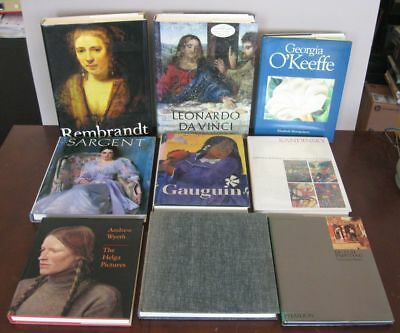 Lot of 21 Fine Art & Other Coffee Table Books, Excellent Condition