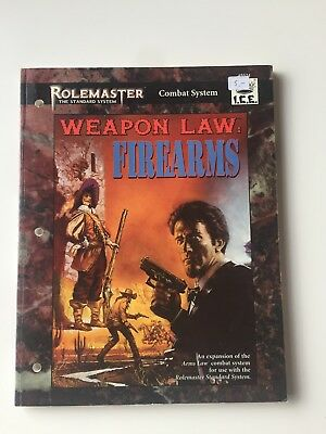 Rolemaster - Weapon Law: Firearms von I.C.E.