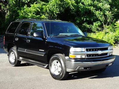 2002 Chevrolet Tahoe LS 4WD 4X4 EXTRA CLEAN! NO RUST! 2ND-OWNER! BARN DOORS STEP RAILS KEYLESS ENTRY HOME LINK COLD AC DIGITAL COMPASS RUNS GREAT