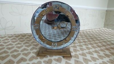 Beautiful Vintage Art Deco, Smiths Electric Clock.