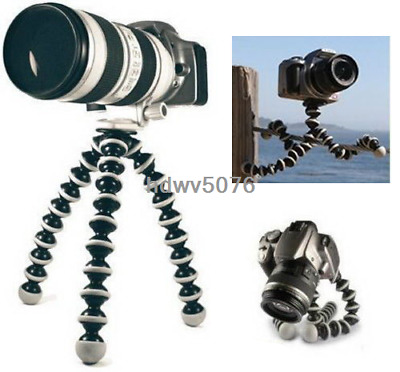 Octopus Flexible Tripod Stand Gorillapod Holder for  Canon Nikon GoPro 6 5 4 3 2