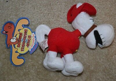 1999 Limited Ed CVS Pharmacy Rockey & Bullwinkle Horse bean bag plush NWT