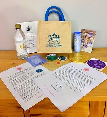 Limited Edition Official Royal Wedding Goody Bag - Prince Harry & Meghan Markle