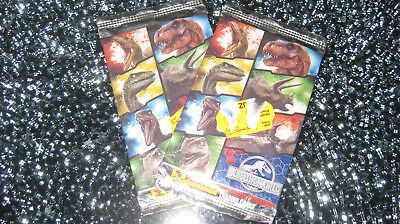 2 Booster - Panini Jurassic World Trading Cards - NEU & OVP