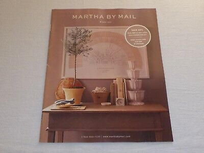 Martha By Mail catalog WINTER 2000 Very Good Condition - Interior Decorating