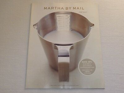 Martha By Mail catalog FALL 2000 Excellent Condition Cooking + Kitchen + Crafts