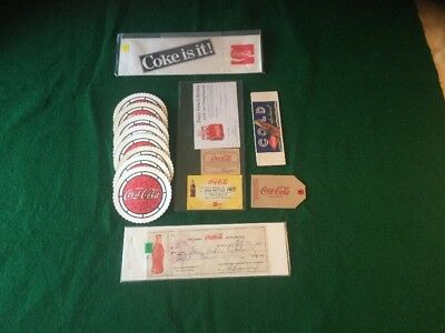 27 Pc Asst Coca Cola Coasters Hat Coupons Check