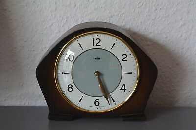 SMITHS Vintage mantle clock. Made in Great Britain. Working order.